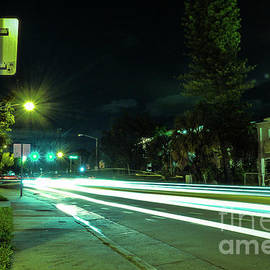 Long Exposure Experiment at Dickens Avenue by Sandu Rojas