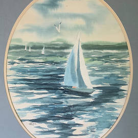 Long Island Sound Sailing with Lorraine Ludwig by Catherine Ludwig Donleycott
