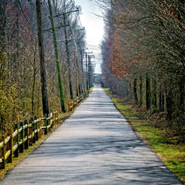 Long Paved Road by Brian Wallace