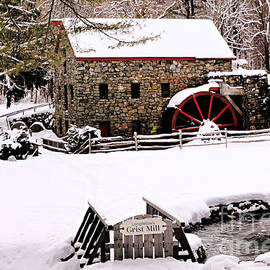 Longfellow's Grist Mill by Diann Fisher