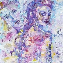 Look into the past by Olga Malamud-Pavlovich