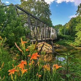 Lost Bridge Over The Eel River #3 by Danny Mongosa