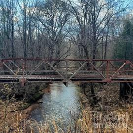 Lost Bridge Over Water by Georgia Threet