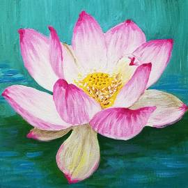 Lotus Dream by Velda Baglieri