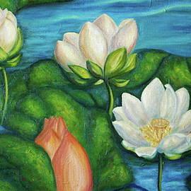 Lotuses by SurfArtTango Marina Lisovaya