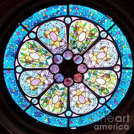 Louis Comfort Tiffany Stained Glass # 2 by Poet's Eye