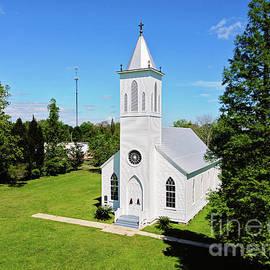 Louisiana's Historic St. Gabriel Archangel Catholic Church by Scott Pellegrin