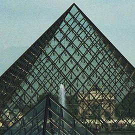 Louvre Pyramid by Lorraine Palumbo