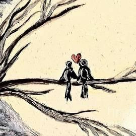 Love Birds Too by Eloise Schneider Mote