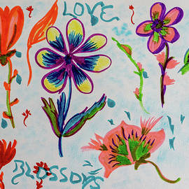 Love Blossoms by Meryl Goudey