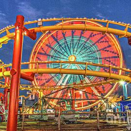 Love is like a Ferris Wheel  by David Zanzinger