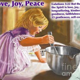 Love Joy Peace  by Gary F Richards