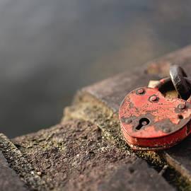 Love Lock by Martin Vorel Minimalist Photography