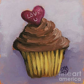 Love You Cupcake by Lucia Stewart