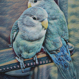 Lovebirds by Ernie Echols