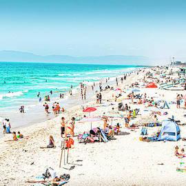 Lovely Day at Any Beach by David Zanzinger