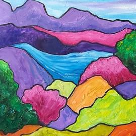 Lovely Landscape by Rosie Sherman