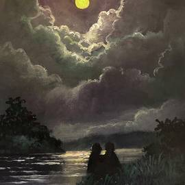 Lovers And Moonlight by Randy Burns
