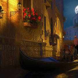 Lovers in Venice by Omid Gohardani