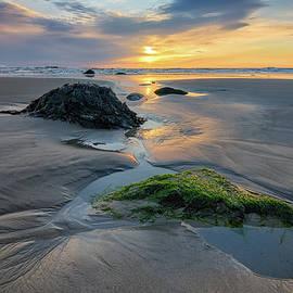 Low Tide at Wells Beach II by Kristen Wilkinson