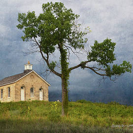 Lower Fox Creek School House  by R christopher Vest
