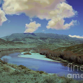 Lower Payette River View by Robert Bales