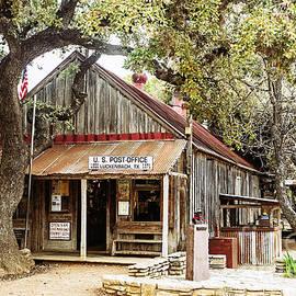 Luckenbach Texas by Scott Pellegrin