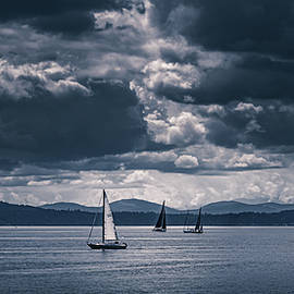 Lullaby of the Tempest, Sailing in Seattle Washington by Shannon Williams