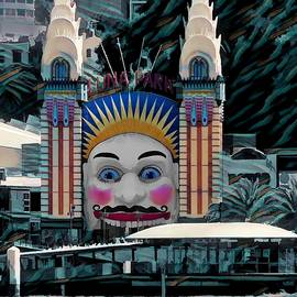 Luna Park By Day by Joan Stratton