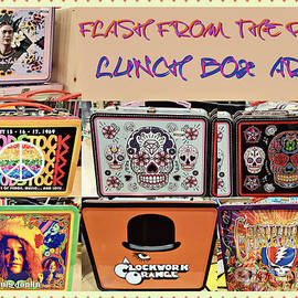 Lunch Box Art Of Yesteryear by Diann Fisher