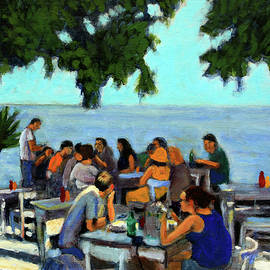 Luncheon in Crete by David Zimmerman