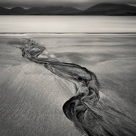 Luskentyre Sand Tracks by Dave Bowman