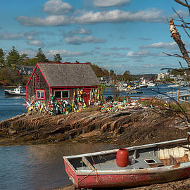 Mackerel Cove, Bailey Island, Maine  by Joann Vitali