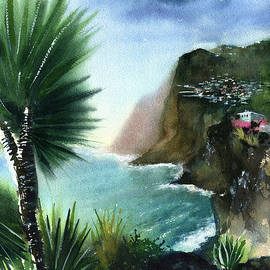 Madeira Sea View - Portugal by Dora Hathazi Mendes