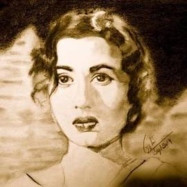 Madhubala on My Paper by Gita Ghiloria