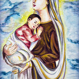 Madonna and child  by Harsh Malik
