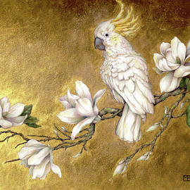 Maggie Among The Beautiful Flowers by Morgan Kari