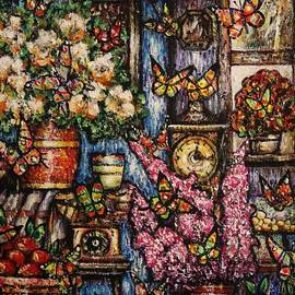 Magical Butterfly Room by Dariusz Orszulik