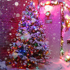 Magical Pink Christmas by Louise Lavallee