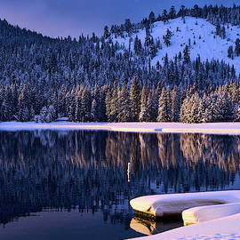Donner Lake Magical Winter Morning by Alexander Glavtchev
