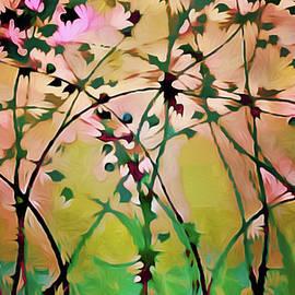 Magnolia Art Nouveau by Susan Maxwell Schmidt
