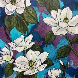 Magnolia Musica by Vardi Art