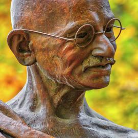 Mahatma Gandhi by Juergen Roth