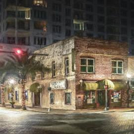 Main Street and Lemon Avenue, Downtown Sarasota, FL, Painterly by Liesl Walsh