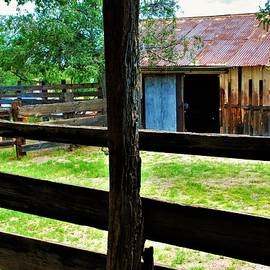 Maintenance  Barn Corrals by Frederick Hahn
