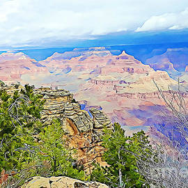 Majestic Grand Canyon by Tracy Ruckman