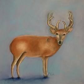 Majestic Stag by Nancy Rabe