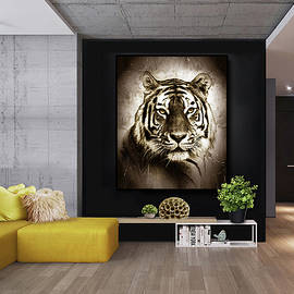Majestic Tiger - in Situ by Grace Iradian