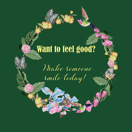 Make someone smile today by Johanna Hurmerinta