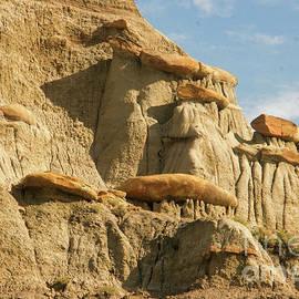 Makoshika rock formations by Jeff Swan